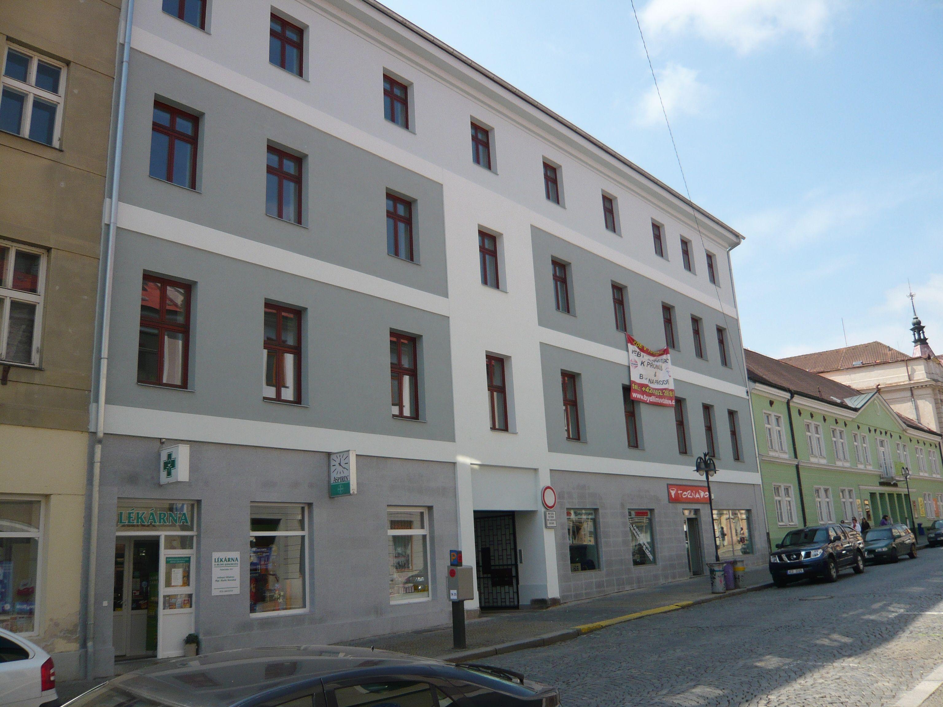 Elektroinstalace - Bytový a obchodní dům - Tábor
