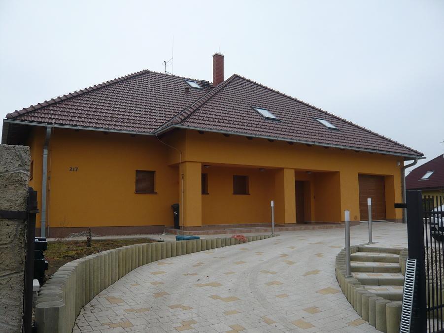 Elektroinstalace - rodinný dům Tuklaty