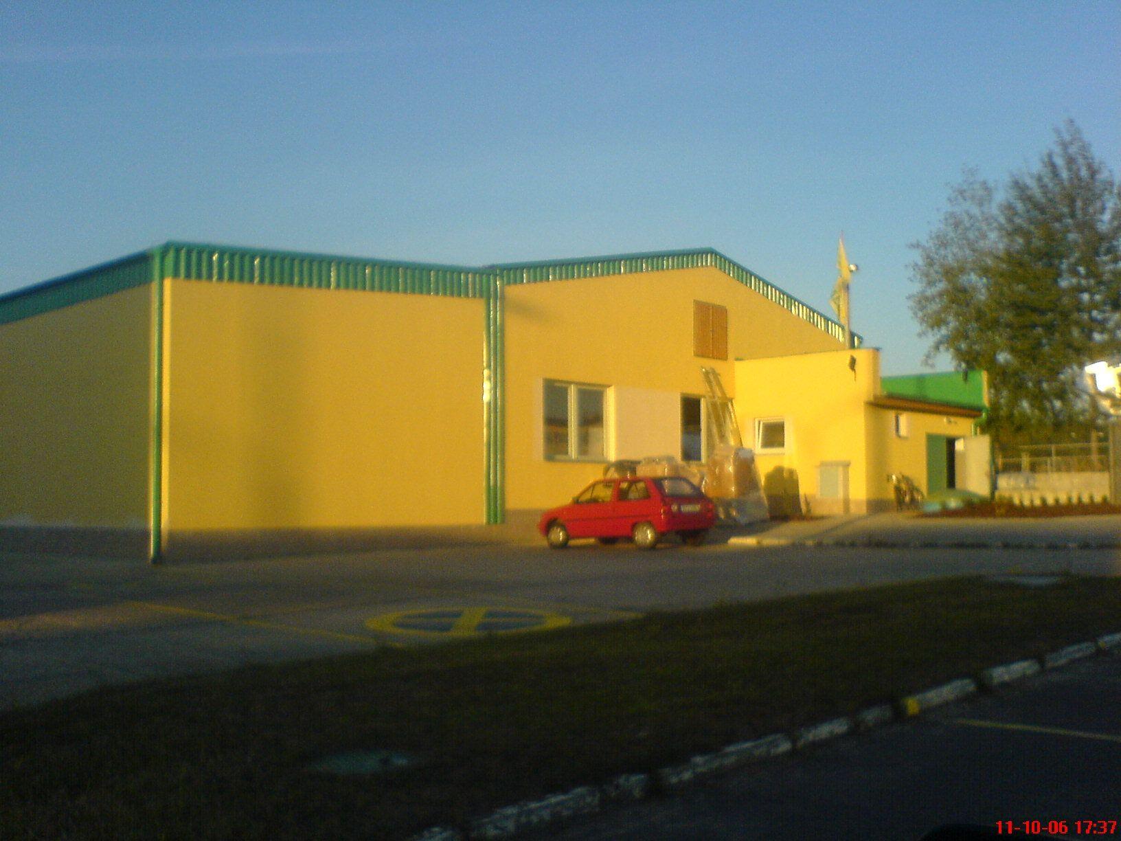 Elektroinstalace - Výrobní hala na fólie - Žíšov