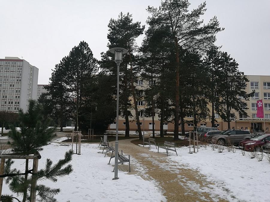 Veřejné osvětlení - České Budějovice