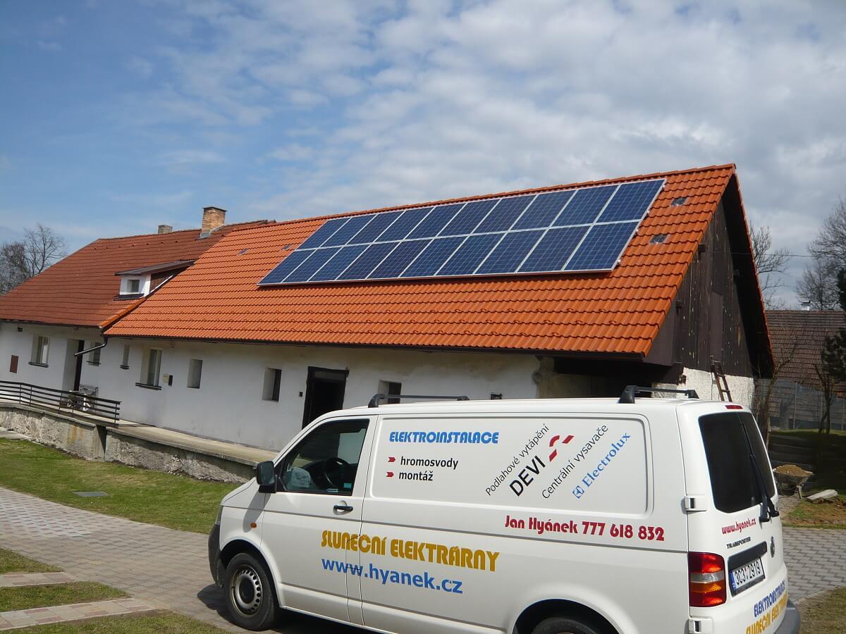 Fotovoltaika Tábor, Vřesce 5kWh