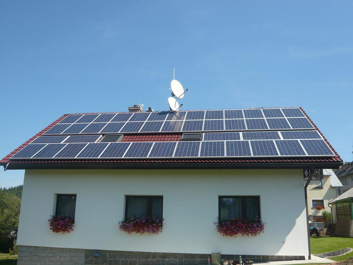 Fotovoltaika Vimperk,Bohumilice 11 kWp