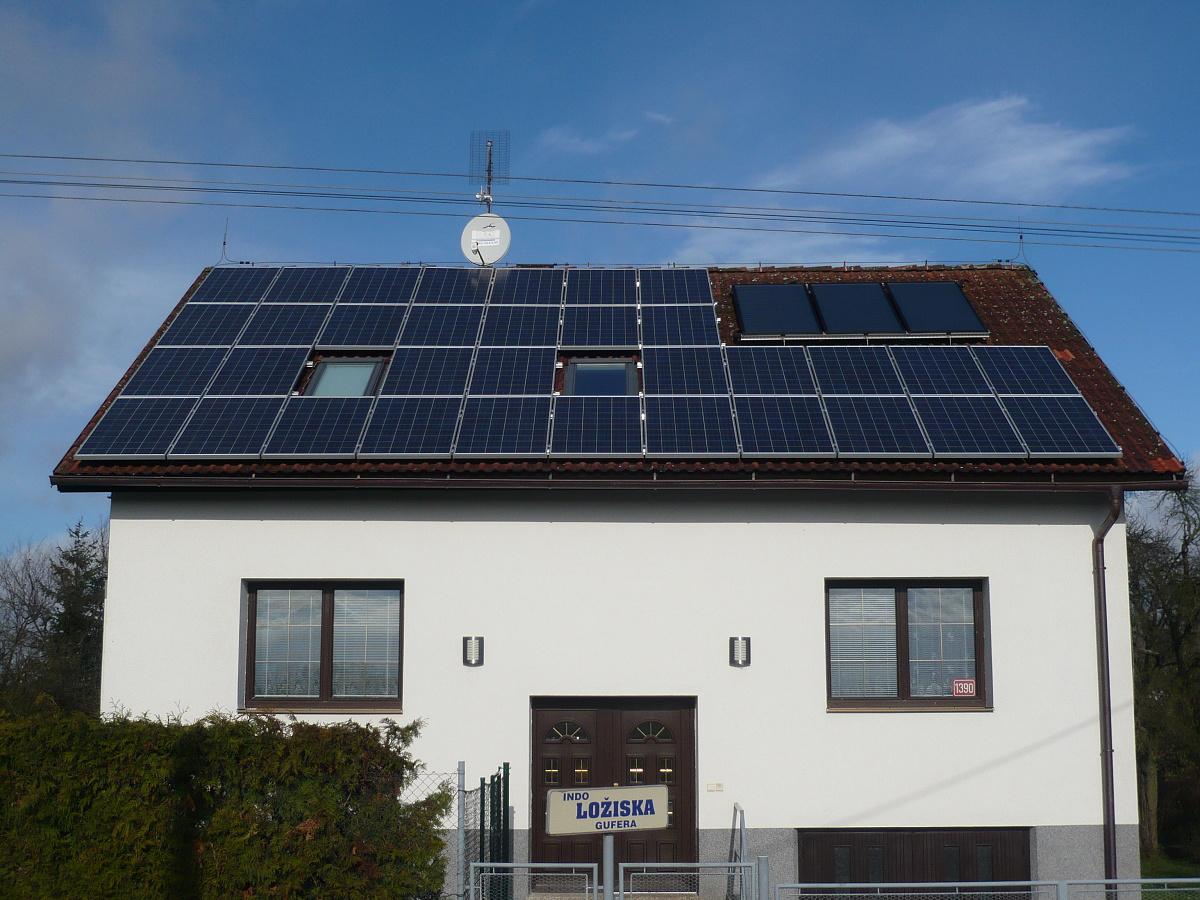 Fotovoltaika Milevsko 8,2 kWp