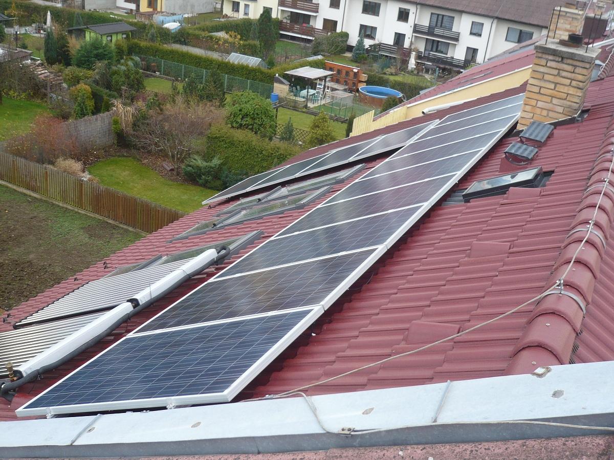 Fotovoltaika České Budějovice, Hrdějovice 3,185 kWp