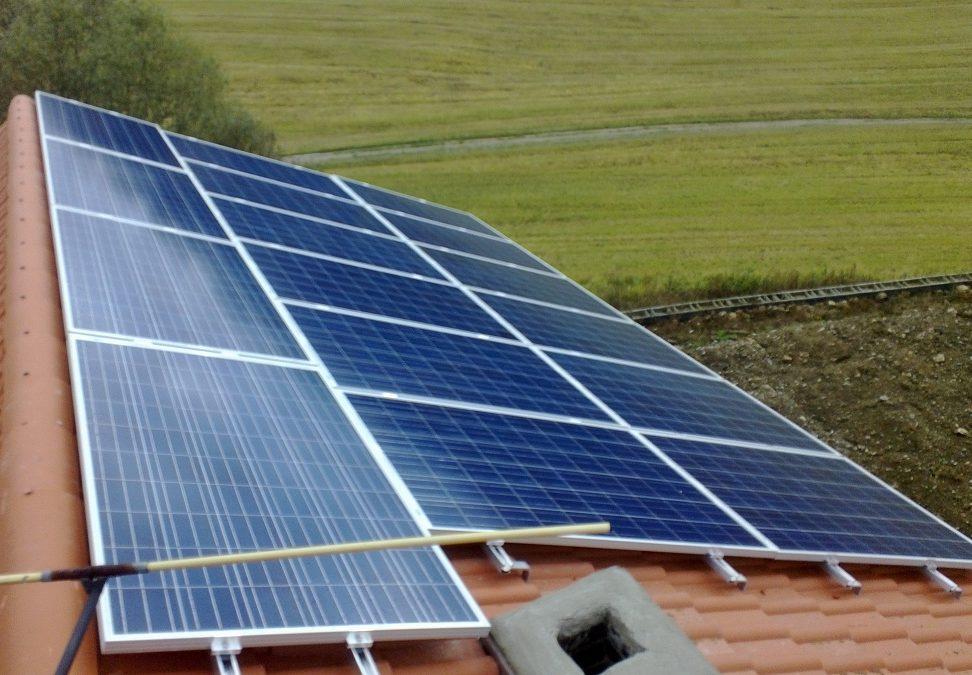 Fotovoltaika Písek 4 kWp-16 kWh