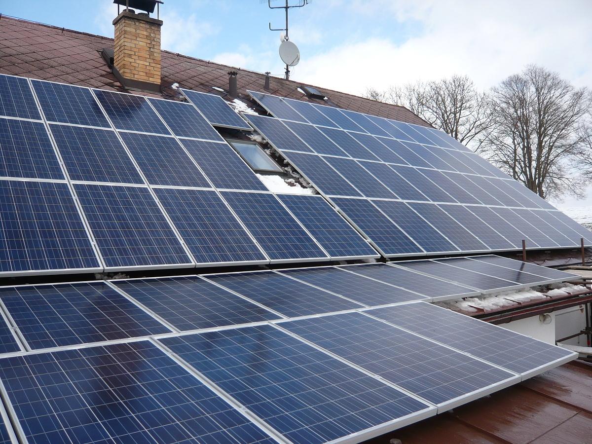 Fotovoltaika Počátky 16,17 kWp