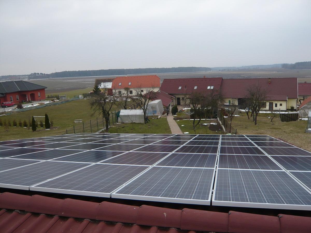 Fotovoltaika Protivín 13,5 kWp